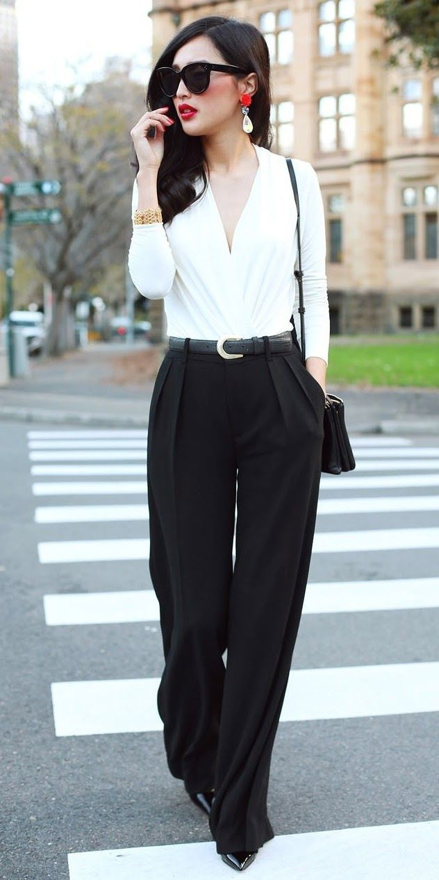 25ec4f2e17734ebbd2f480e9d1077feb 18 Ideal Girls Outfits with White Shirts for Glamorous look