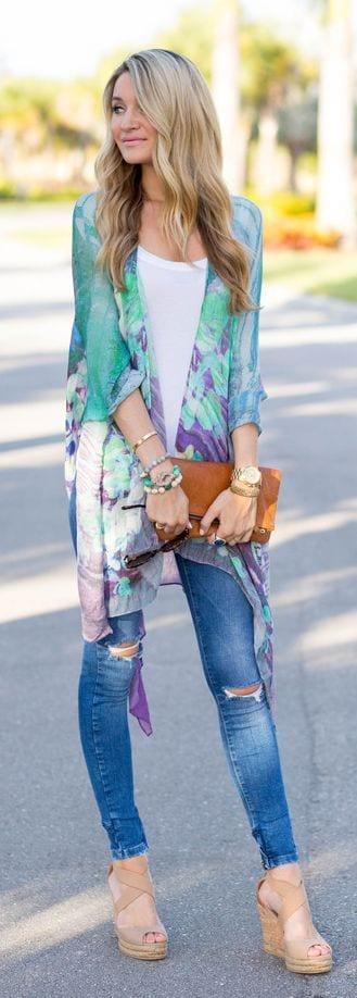 3 Kimono Outfit Ideas- 20 Ways To Dress Up With Kimono Outfits