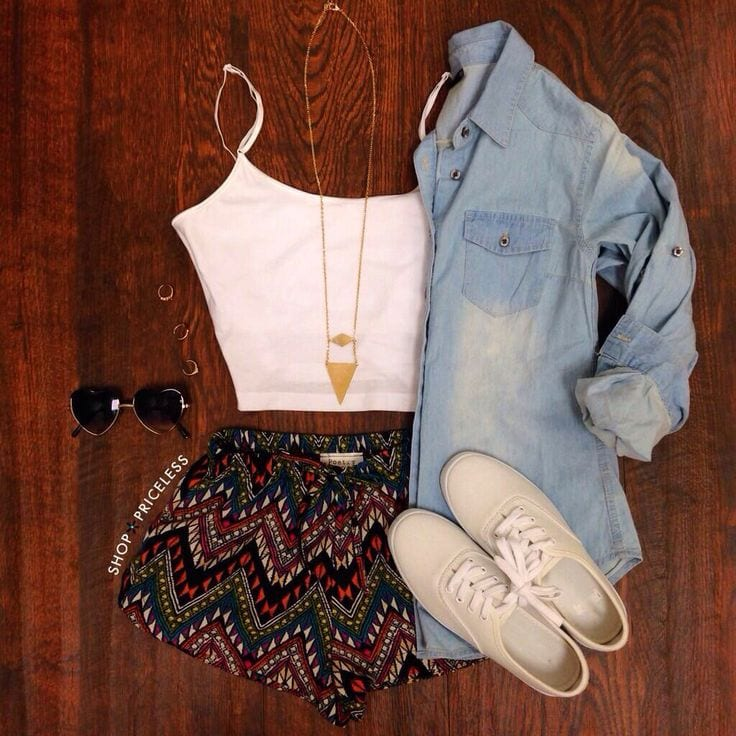 5ff8dd9d2a3765c84e7b350a333c80f3 17 Cute College Outfits for Short Height Girls to Look Tall
