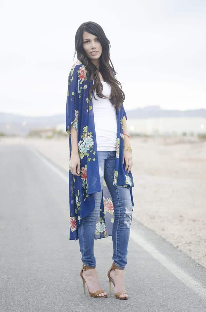 Kimono Outfit Ideas- 20 Ways To Dress Up With Kimono Outfits