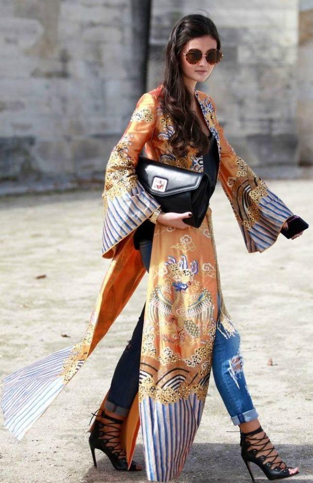 91 Kimono Outfit Ideas- 20 Ways To Dress Up With Kimono Outfits