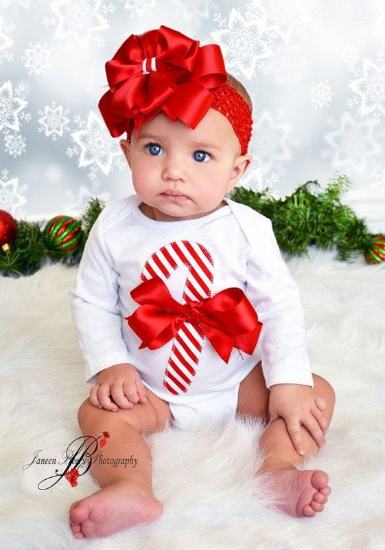 Christmas Looking for a cute baby or toddler Christmas outfit is easy at Mud Pie! Many items are available for monogramming or personalization for just $10 more.