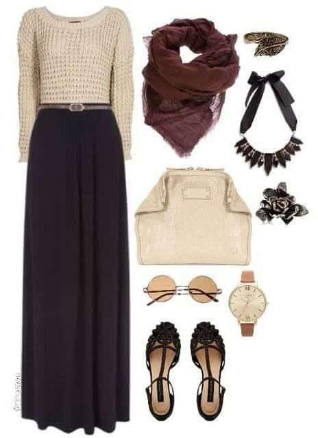 Jilbab fashion ideas for women (7)