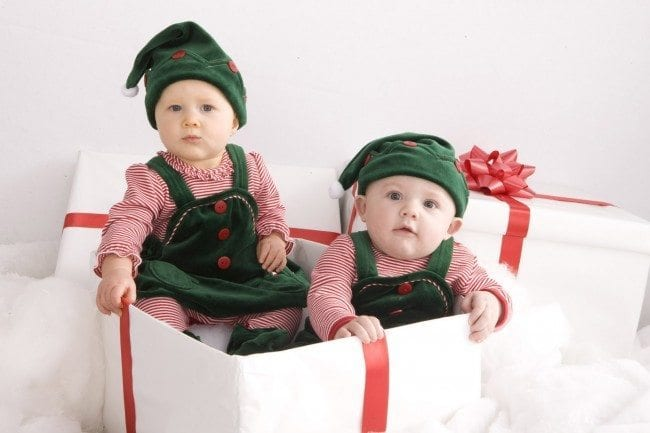 Elves-in-the-box-650x433 10 Cute christmas outfits for babies and toddlers This Year