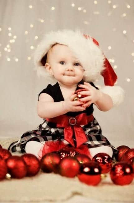 In-the-middle-of-christmas-decorations-431x650 10 Cute christmas outfits for babies and toddlers This Year