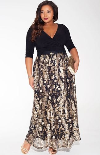 New-Years-Eve-6 Plus Size New Year's Eve Outfit Ideas- 25 Dress Combinations