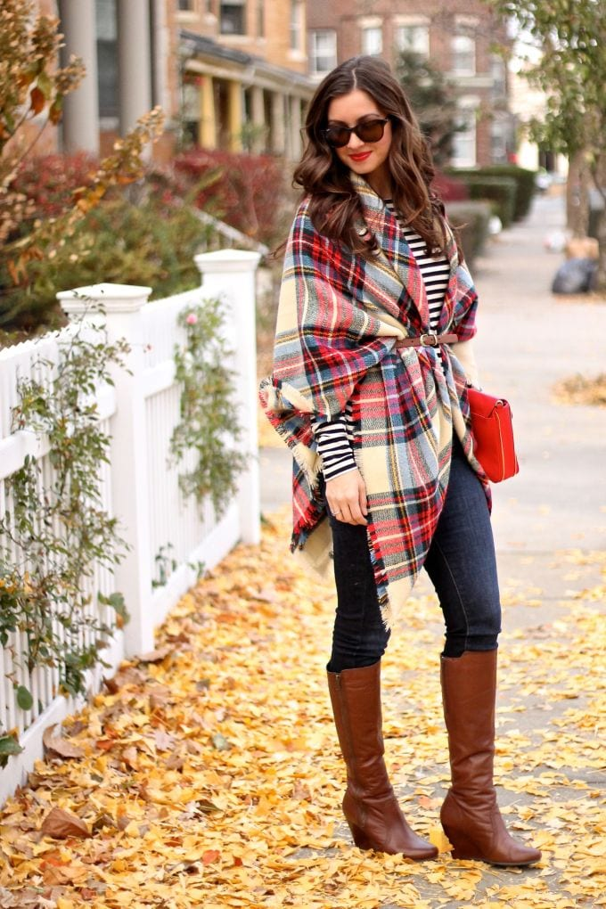 tartan outfit ideas for women (7)