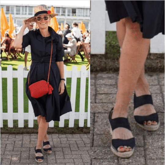 espadrille-wedges-outfit Outfits With Espadrilles–17 Ideas How To Wear Espadrilles
