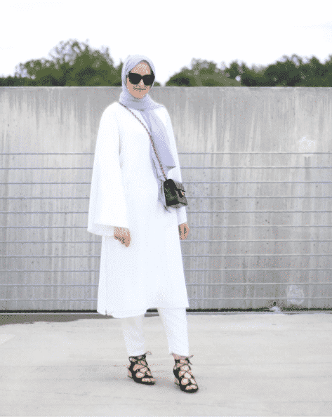 hijab-style-for-university 30 Cute Hijab Styles For University Girls - Hijab Fashion