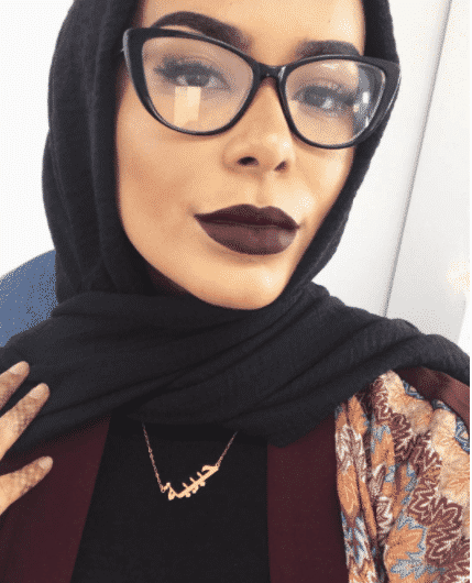 hijab-with-glasses 30 Cute Hijab Styles For University Girls - Hijab Fashion