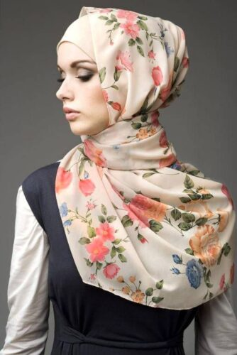 hijab20-334x500 30 Cute Hijab Styles For University Girls - Hijab Fashion