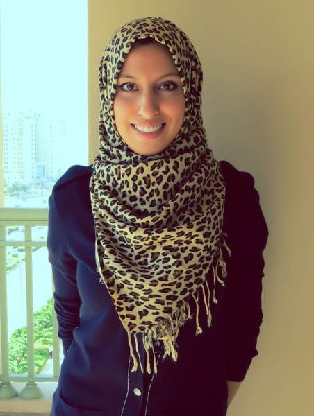 Cheetah Print Hijab Fashion Style