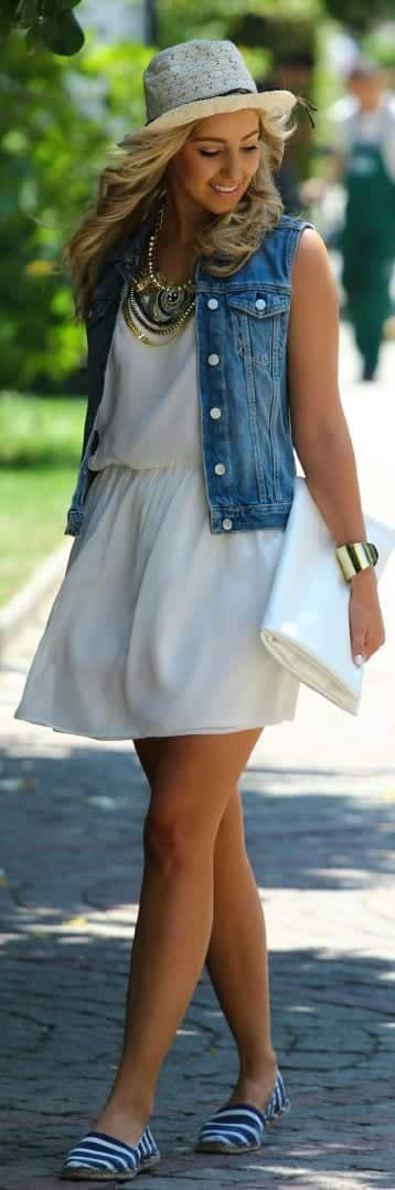 outfits to wear with espadrilles (7)