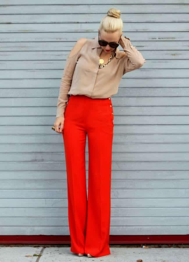 pants11 High Waisted Pants Outfits-20 Ways To Wear High Waisted Pants