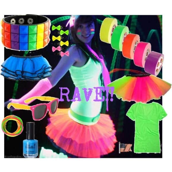 rave20 Cute Rave Party Outfits-20 Ideas What To Wear For Rave Party