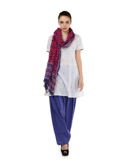 scuba-blue-semi-patiala-salwar-with-dupatta