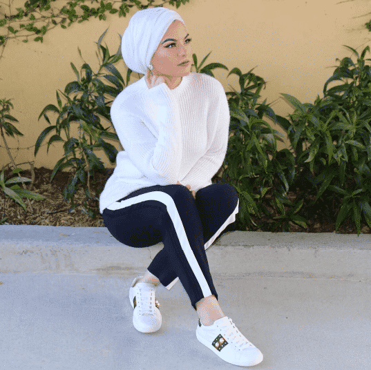 sporty-hijab-for-university 30 Cute Hijab Styles For University Girls - Hijab Fashion