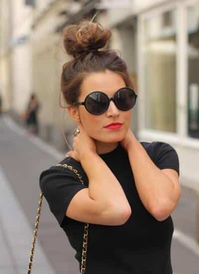 topknot 17 Cute College Outfits for Short Height Girls to Look Tall