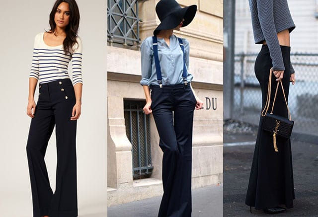 1 Outfits with Bell Bottom Pants-23 Ways to Wear Bell Bottom