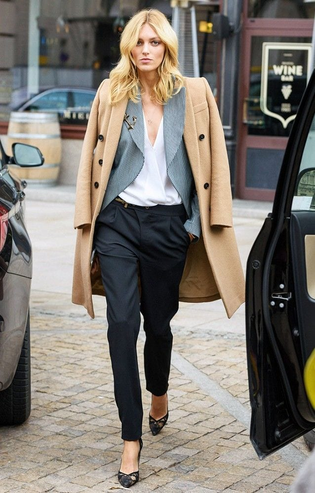 ideas to wear camel coats (14)