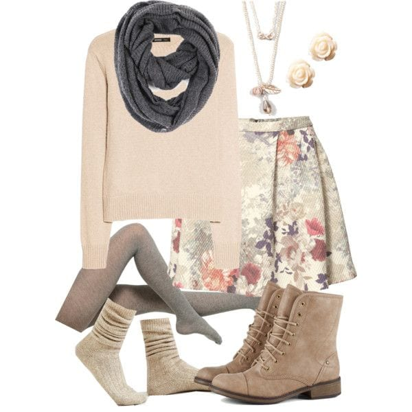 Cute-Winter-Outfit10 Cute Winter Polyvore Outfits-28 Most Viral Polyvore Combinations