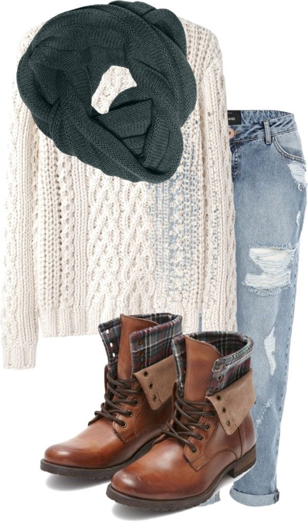 Winter Polyvore Combinations(11)