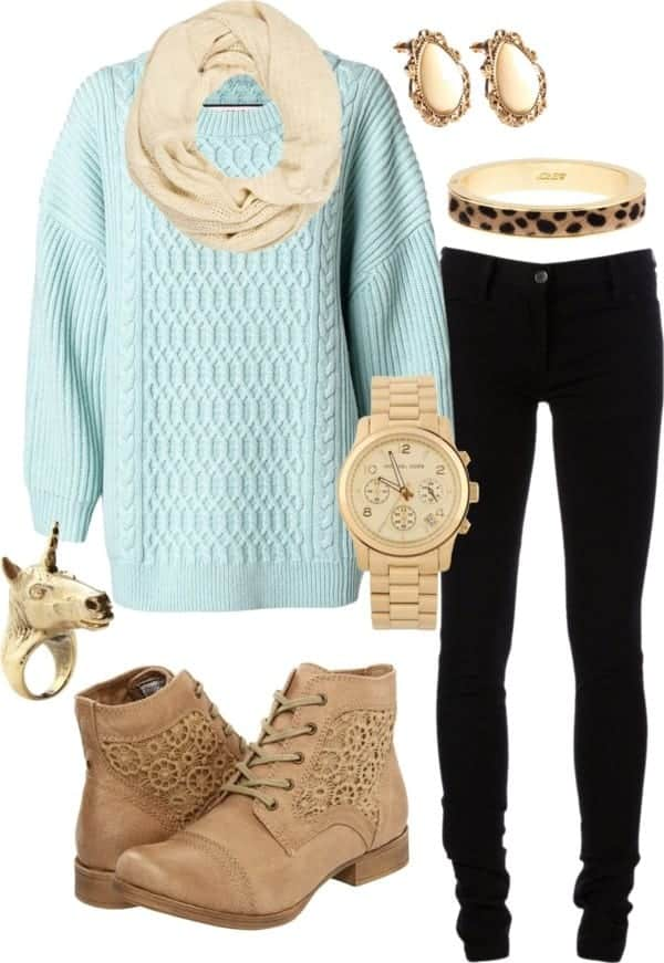 Winter Polyvore Combinations(13)