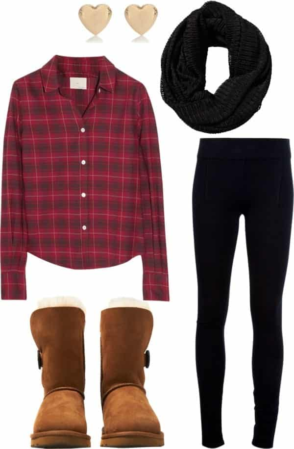 Winter Polyvore Combinations(14)