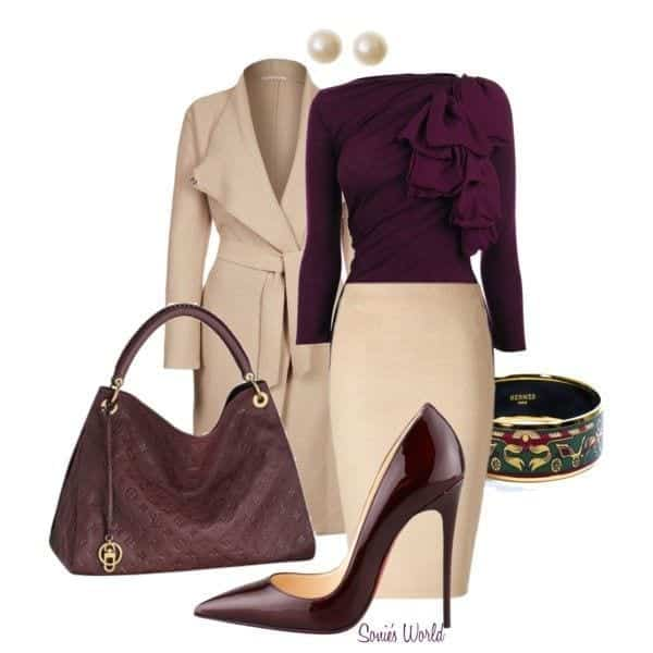Winter Polyvore Combinations(24)