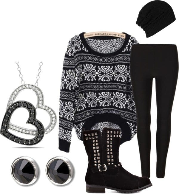Cute-Winter-Outfit3 Cute Winter Polyvore Outfits-28 Most Viral Polyvore Combinations