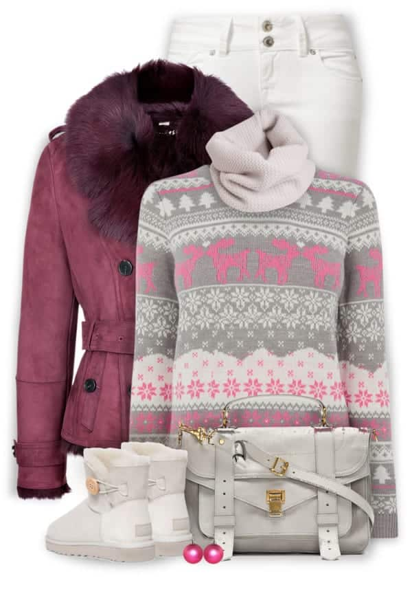Winter Polyvore Combinations(4)