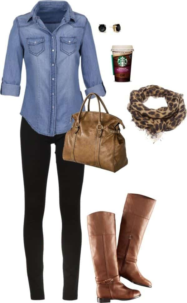 Fall-Polyvore-Outfit20 Fall Polyvore Outfits - 28 Top Polyvore Combinations For Fall