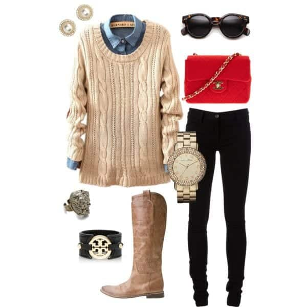 Fall-Polyvore-Outfit281 Fall Polyvore Outfits - 28 Top Polyvore Combinations For Fall