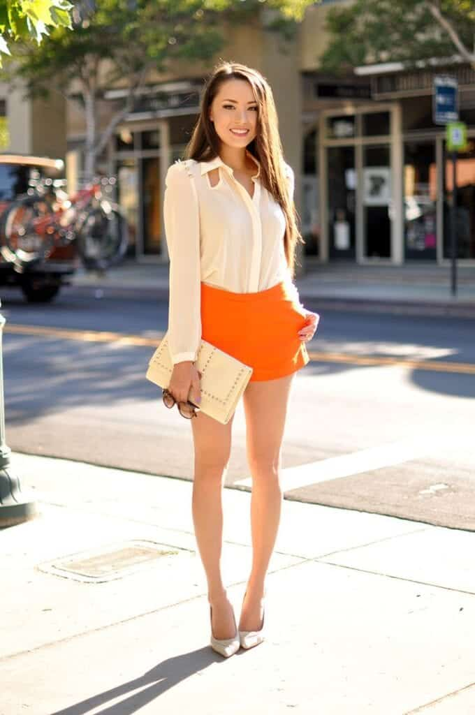 High-Waisted-Shorts-Outfits21-680x1024 25 Cute Outfits With High Waisted Shorts For A Chic Look