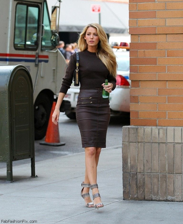 LS3 Leather Skirt Outfit Ideas - 20 Ways to Wear Leather Skirts
