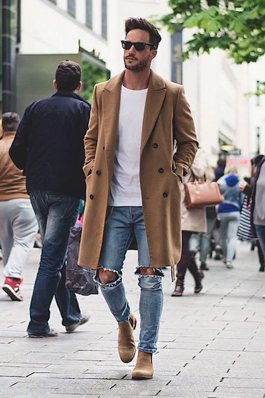 Men-Long-Coat-Styles1 Men Long Coat Styles-20 Best Outfits To Wear Long Down Coat