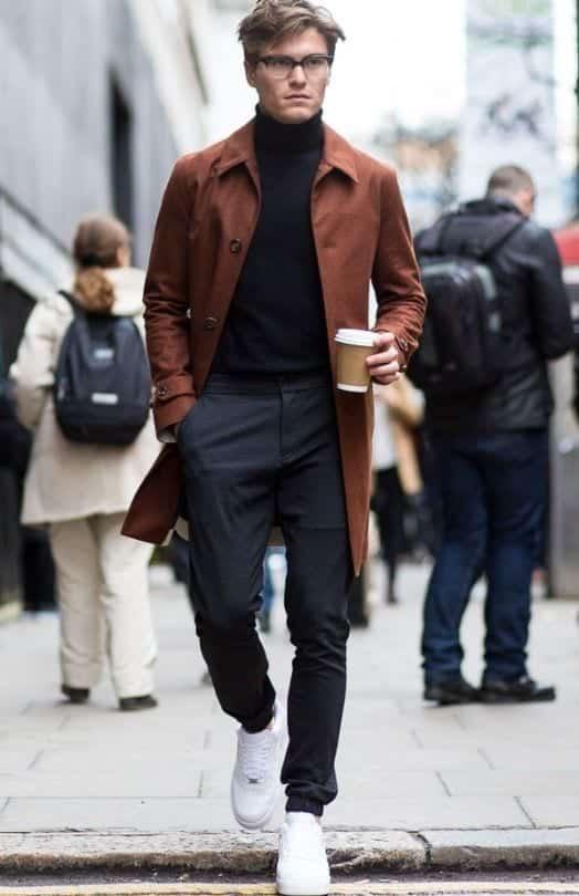 Men-Long-Coat-Styles2 Men Long Coat Styles-20 Best Outfits To Wear Long Down Coat