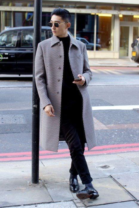 Men-Long-Coat-Styles3 Men Long Coat Styles-20 Best Outfits To Wear Long Down Coat