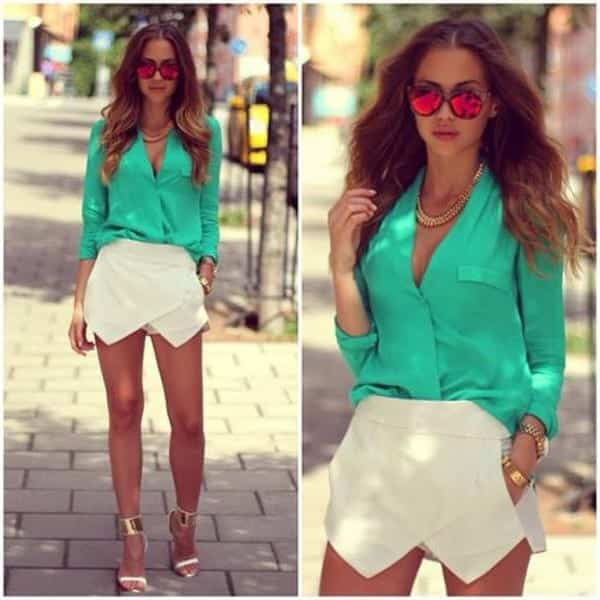 SO14 Cute Outfits with Shorts -27 Chic Ideas How to Wear Shorts