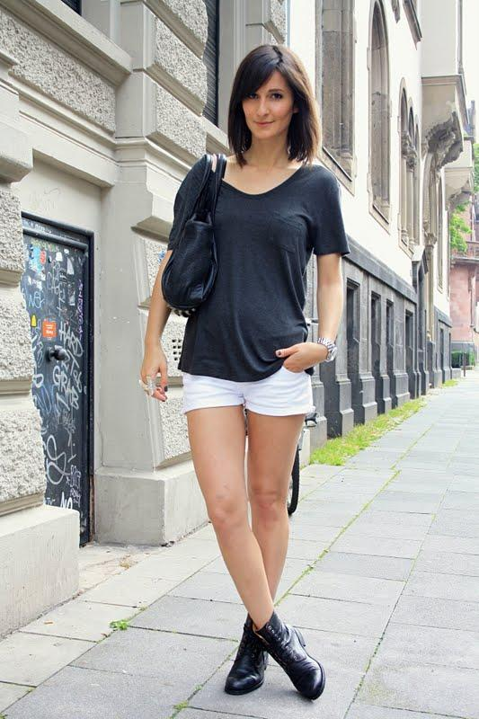 SO22 Cute Outfits with Shorts -27 Chic Ideas How to Wear Shorts