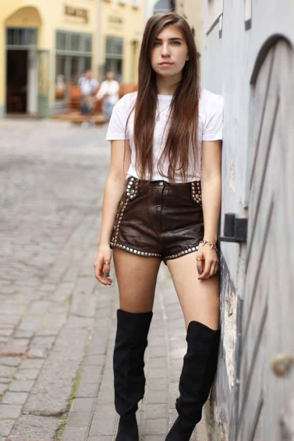 SO23 Cute Outfits with Shorts -27 Chic Ideas How to Wear Shorts