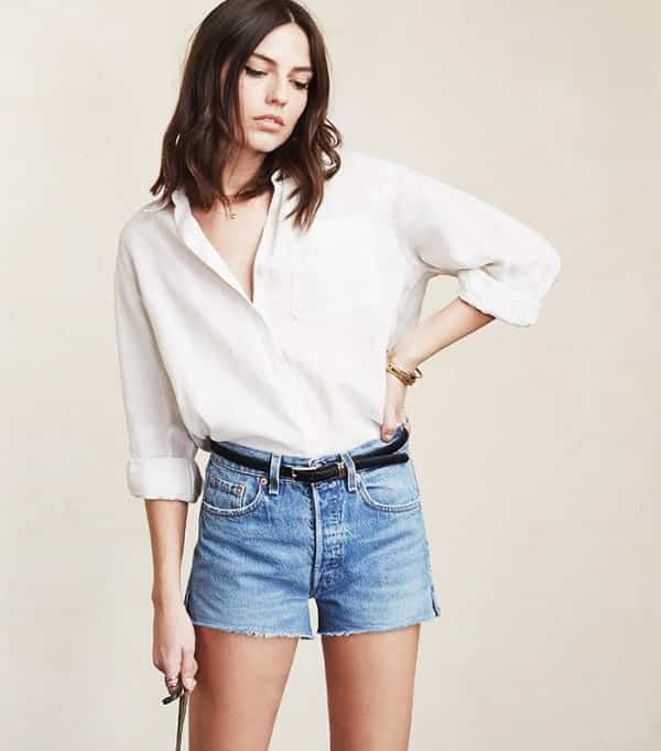SO51 Cute Outfits with Shorts -27 Chic Ideas How to Wear Shorts