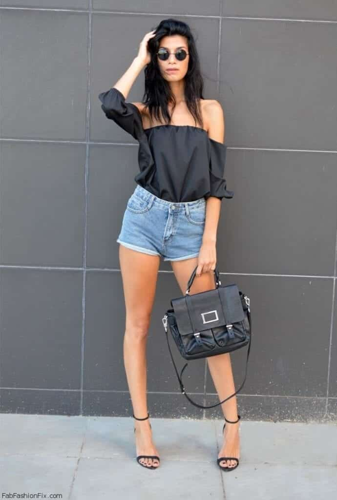 SO9-690x1024 Cute Outfits with Shorts -27 Chic Ideas How to Wear Shorts