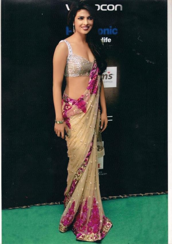 Sarees for slim women