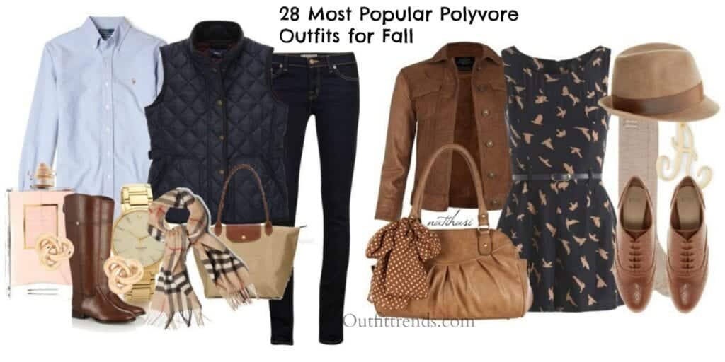 Top-polyvore-fall-outfits-1024x512 Fall Polyvore Outfits - 28 Top Polyvore Combinations For Fall