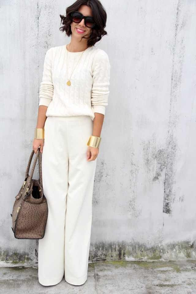 flare-leged-pants-42 Outfits with Bell Bottom Pants-23 Ways to Wear Bell Bottom