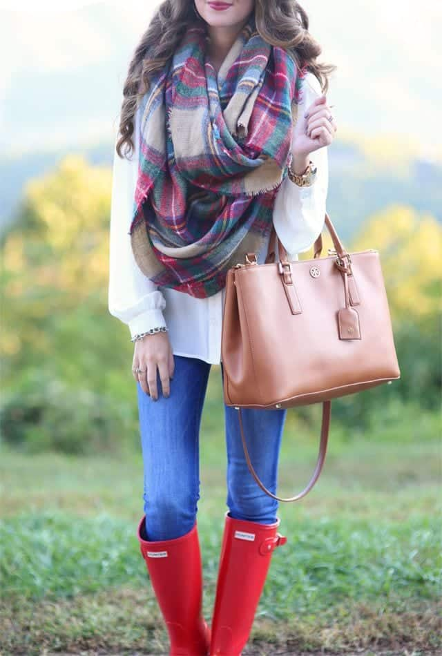 how-to-style-hunter-boots-21 Outfits with Hunter Boots-20 Ways to Wear Hunter Boots