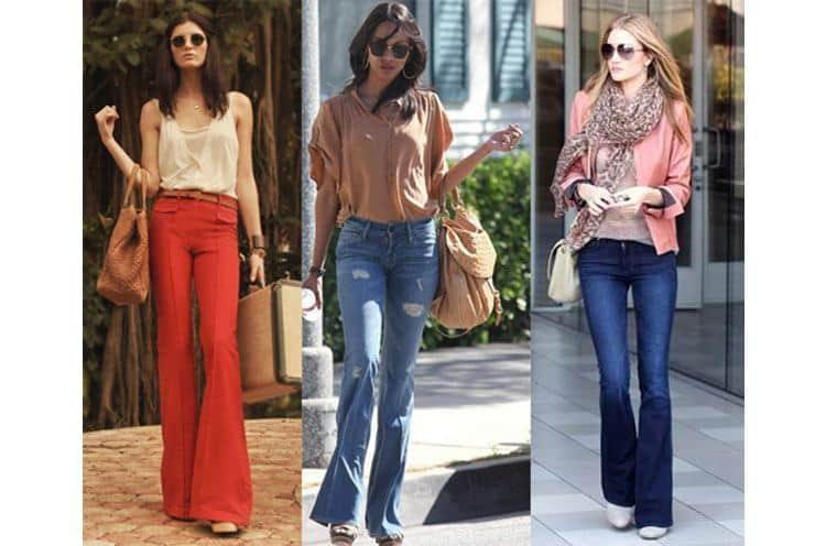 how-to-wear-bell-bottom-jeans Outfits with Bell Bottom Pants-23 Ways to Wear Bell Bottom