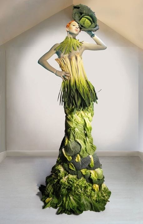 vegetable dress 6