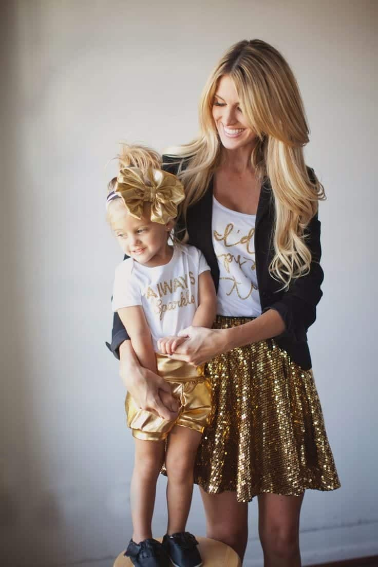 000000 100 Cutest Matching Mother Daughter Outfits on Internet So Far
